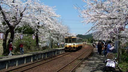 2004/4/10 能登鉄道 能登かしま/さくら駅